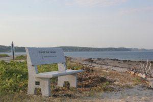 bench Granite memorial