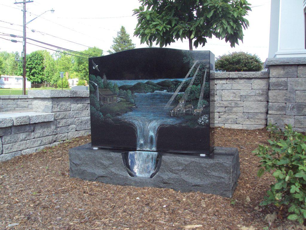 Waterfall memorial