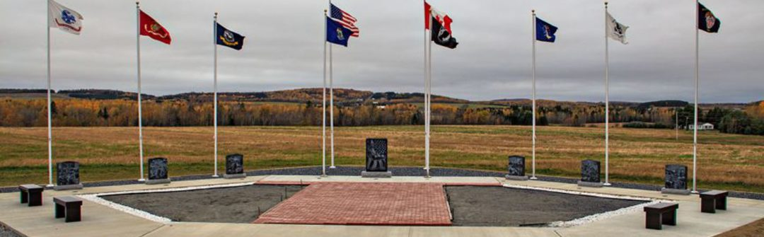 Veterans Memorial in Fort Fairfield.